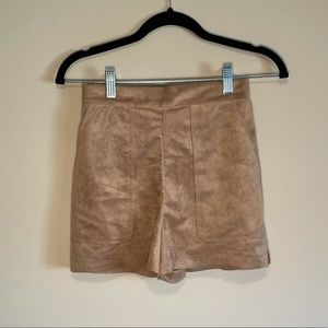 Wilfred Suede Shorts
